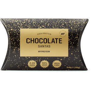 Protein Chocolate Santas