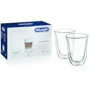 Delonghi 5513214611 Latte Macchiato Glasses