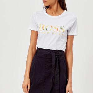 BOSS Orange Women's Tiboss T-Shirt - White