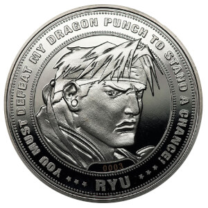 Street Fighter 'Ryu' Collector's Limited Edition Coin: Silver Variant