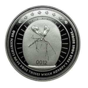 Jurassic Park 'Amber' Collector's Limited Edition Coin: Silver Variant