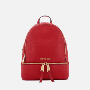 MICHAEL MICHAEL KORS Women's Rhea Zip Medium Backpack - Bright Red