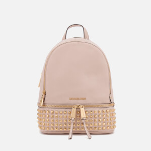 MICHAEL MICHAEL KORS Women's Rhea Zip Medium Stud Backpack - Soft Pink