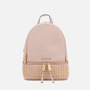 MICHAEL MICHAEL KORS Women's Rhea Zip Medium Stud Backpack - Soft Pink