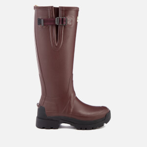 Hunter Women's Balmoral Adjustable Wellies - Burgundy