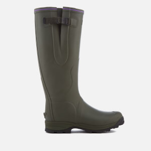 Hunter Women's Balmoral Lady Neoprene Wellies - Dark Olive