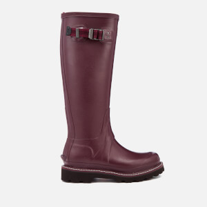 Hunter Women's Balmoral Poly-Lined Wellies - Burgundy