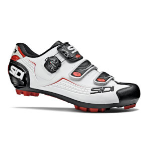 Sidi Trace MTB Shoes - White/Black/Red