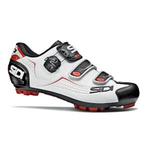 Sidi Trace MTB Shoes - White/Black/Red