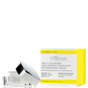 skinChemists London Pro-5 Collagen Anti-Ageing Overnight Eye Repairing Serum 15 ml