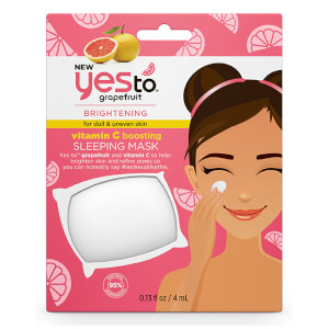 yes to Grapefruit Vitamin C Boosting Sleeping Mask 4 ml