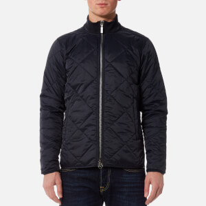 Barbour International Men's Quilted Gabion Jacket - Navy