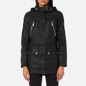 Barbour International Women's Ridge Wax Jacket - Black