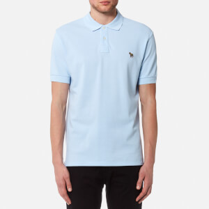 PS by Paul Smith Men's Regular Fit Short Sleeve Polo Shirt - Sky