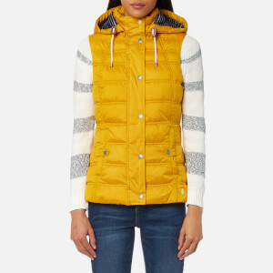 Barbour Women's Westmarch Quilt Gilet - Canary Yellow