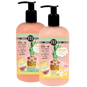 BB by Bettina Barty Bath & Shower Gel / Body Lotion 'Be a Pineapple'