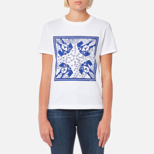 PS by Paul Smith Women's Printed Dog T-Shirt - White