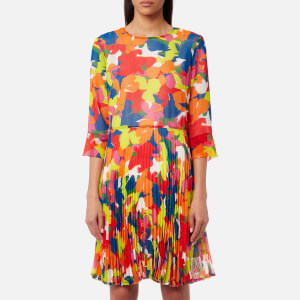 PS Paul Smith Women's Floral Pleat Dress - Multi