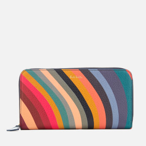 Paul Smith Women's Swirl Zip Around Purse - Multi