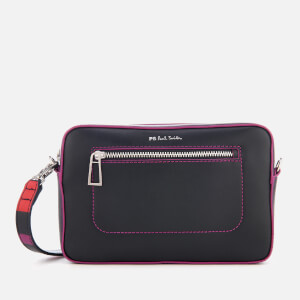 PS by Paul Smith Women's Multi Stripe Strap Cross Body Bag - Navy