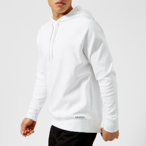 HUGO Men's Dayfun Overhead Hoody - White