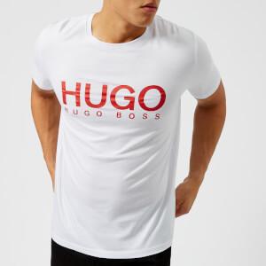 HUGO Men's Dolive Large Logo T-Shirt - White