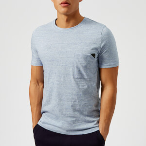 HUGO Men's Dohnny Pocket T-Shirt - Blue