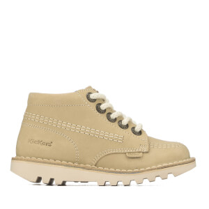 Chaussures Enfant Kick Hi Kickers - Beige Clair