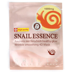 Shills Snail Essence Wrinkle-Smoothing Sheet Mask