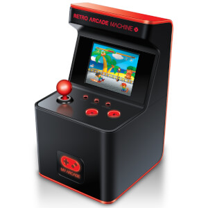 Ma Machine Arcade Rétro Portable - X 16-Bit Mini Arcade (Avec 300 Jeux)