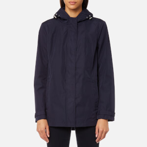 GANT Women's Soft Shell Parka Jacket - Evening Blue
