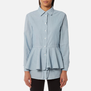 GANT Rugger Women's Layered Shirt - Salty Sea