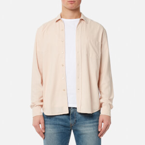 Our Legacy Men's Classic Shirt - Acid Pink Silk Noil
