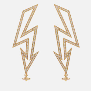 Vivienne Westwood Women's Isadora Earrings - White Cubic Zirconia: Image 2