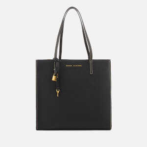 Marc Jacobs Women's The Grind Tote Bag - Black/Gold