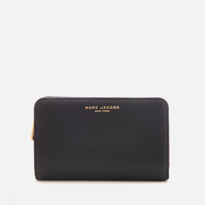 Marc Jacobs Women's Compact Wallet - Black/Gold
