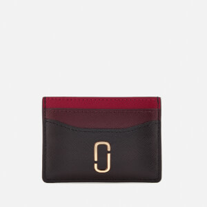 Marc Jacobs Women's Card Case - Black/Chianti