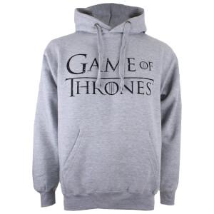 Game of Thrones Men's Logo P/O Hoody - Grey Heather