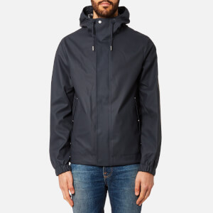 Hunter Men's Original Rubberised Bomber Jacket - Navy