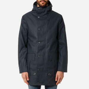 Hunter Men's Original Rubberised Fishing Coat - Navy