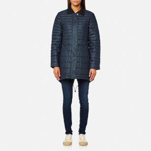 Hunter Women's Original Refined Short Down Coat - Navy