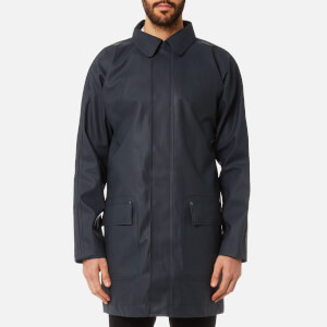Hunter Men's Original Rubber Raincoat - Navy