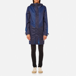 Hunter Original Zip Front Ct Vin Jacket - Tarp Blue