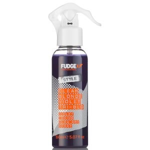 Fudge Clean Blonde Violet Tri-Blo Spray -lämpösuojasuihke, 150ml