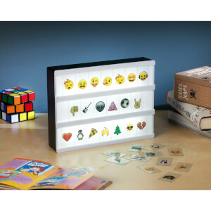 A4 Emoji Cinematic Lightbox - Black