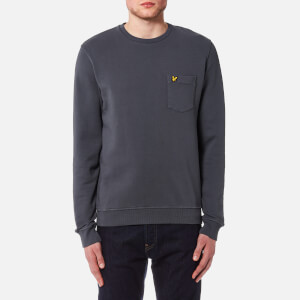 Lyle & Scott Men's Garment Dye Sweatshirt - Washed Grey