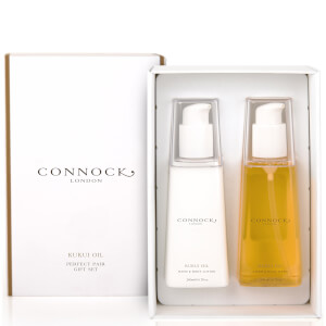 Set de regalo de aceite de kukui Perfect Pair de Connock London