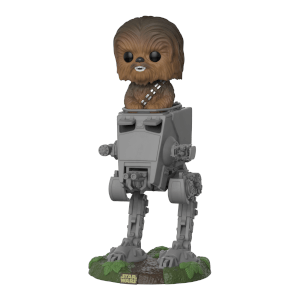 Figurine Pop! Deluxe Chewbacca dans AT-ST - Star Wars