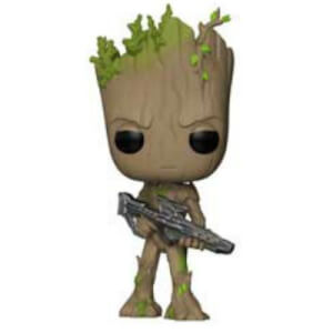 Marvel Avengers Infinity War Teen Groot with Gun Funko Pop! Figuur