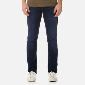 7 For All Mankind Men's Slimmy Denim Jeans - Dark Blue